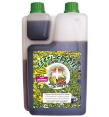 FERTI-SAVOIE, engrais organique liquide naturel - Bouteille de 1 litre