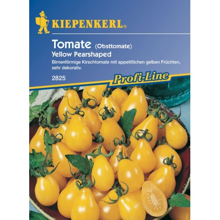 Tomate cocktail Yellow Pearshaped