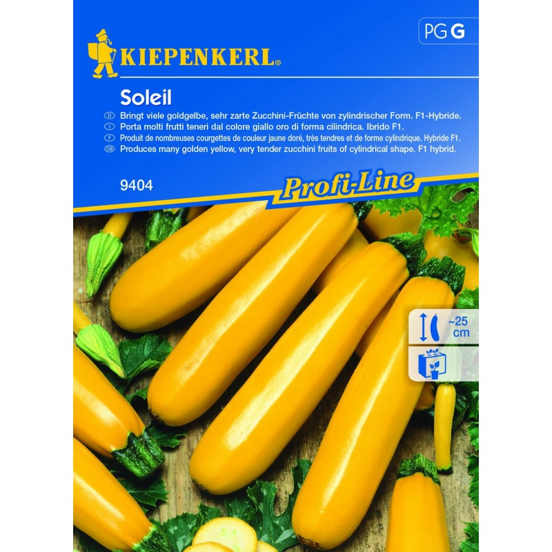 Courgette Soleil
