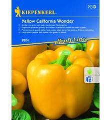 Poivron Jaune Yellow California Wonder