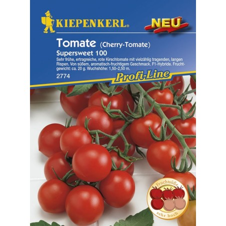 Tomate F1 cerise Supersweet Kirsch