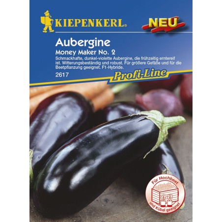 Aubergine Moneymaker F1