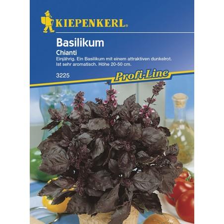 Basilic à feuilles rouges Chianti